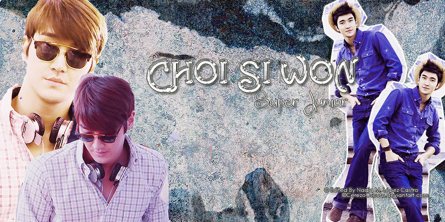 Choi Si Won Cover FB by CerezoOscuro on DeviantArt