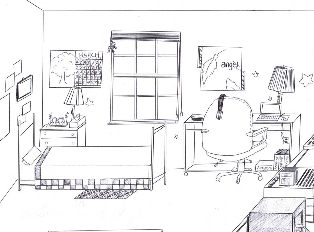 My dream room by mangafox23 on DeviantArt