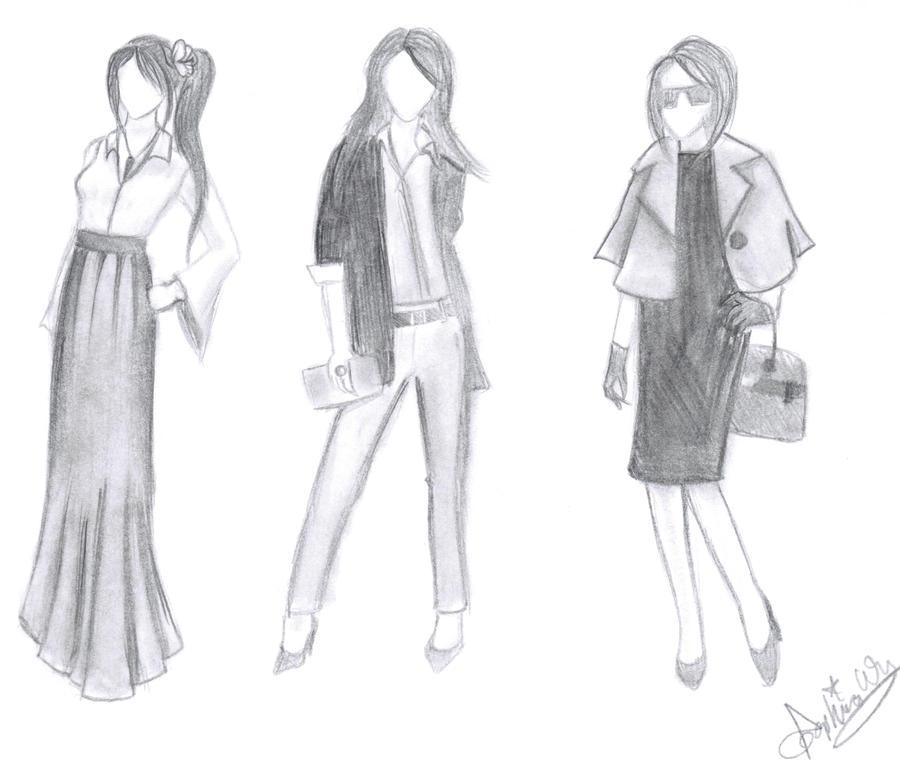 Fashion designing for beginners sketching 94