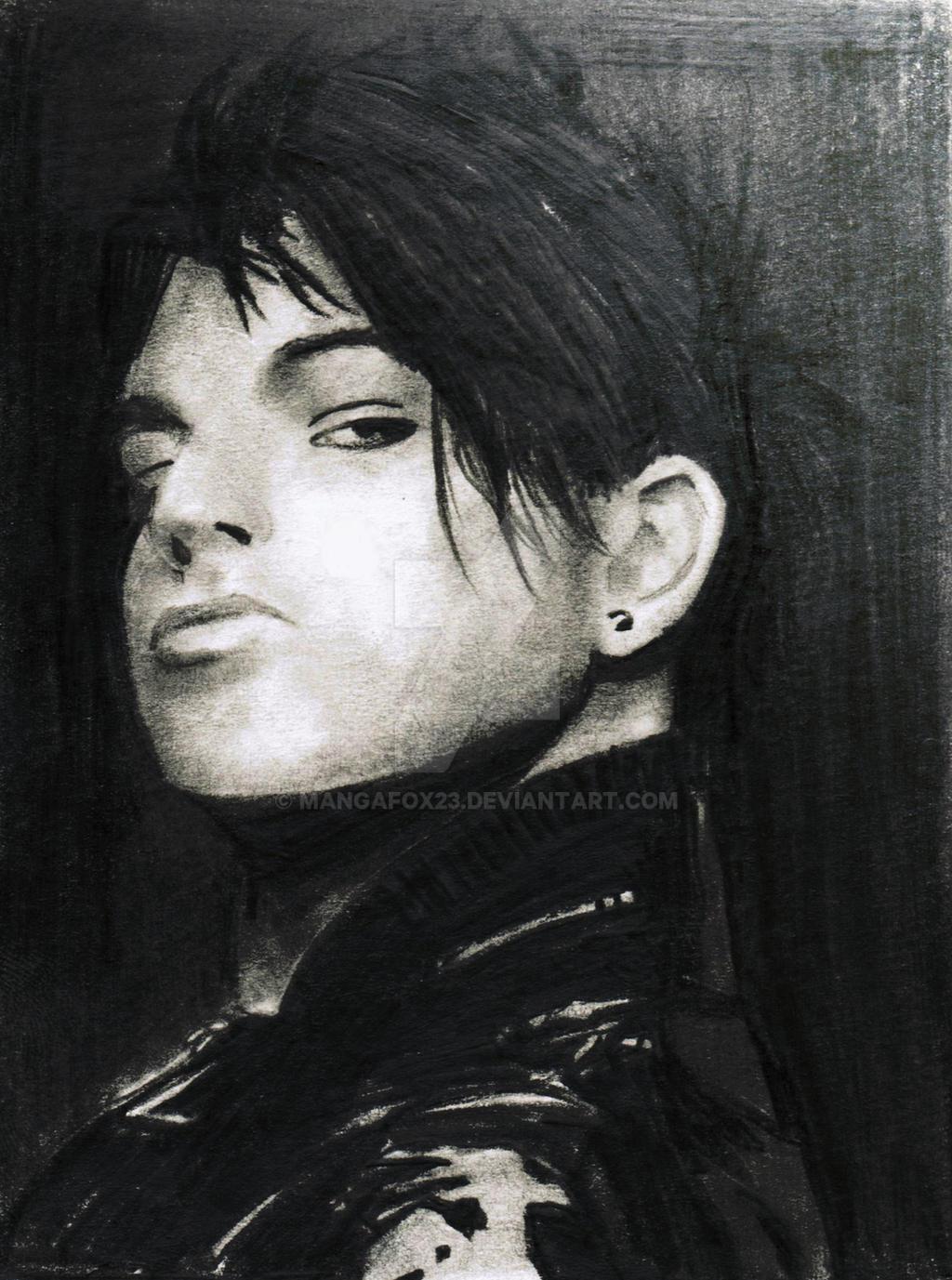 Adam Lambert portrait by mangafox23
