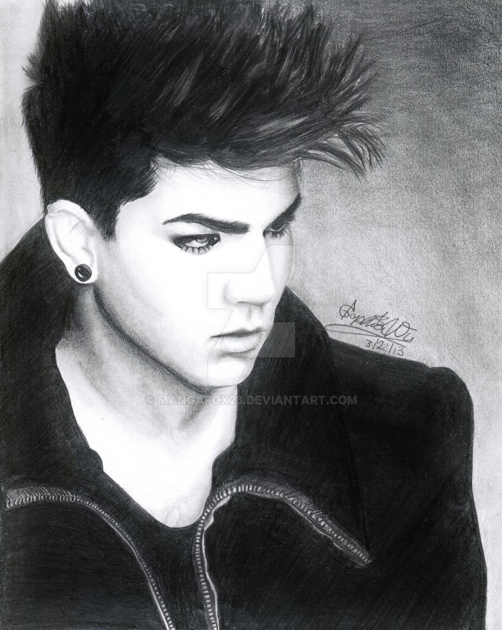 Adam Lambert Trespassing by mangafox23 on DeviantArt