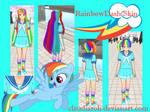 Rainbow Dash Skin #1 Yandere Simulator