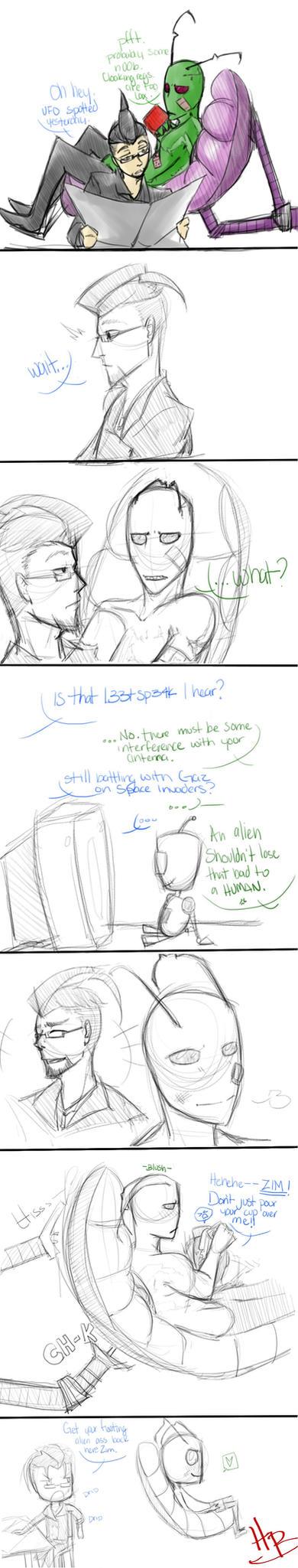 IZ Zim's secret by HakuoBlazer