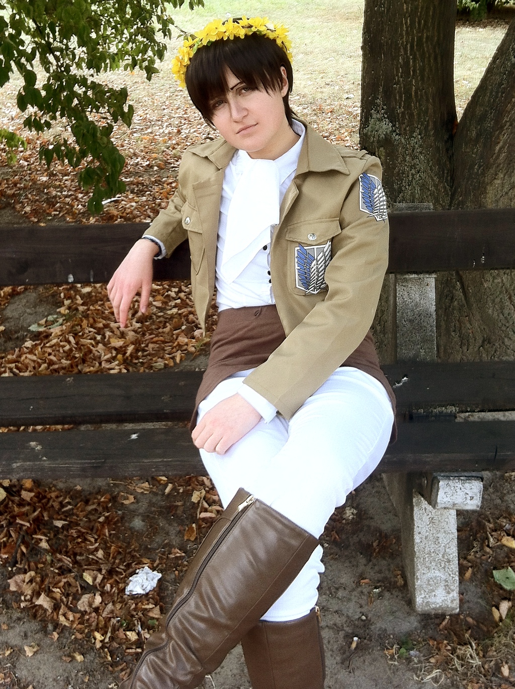 Gut bekannt SnK: Levi Ackerman cosplay 2 by themuffinshota on DeviantArt CT55