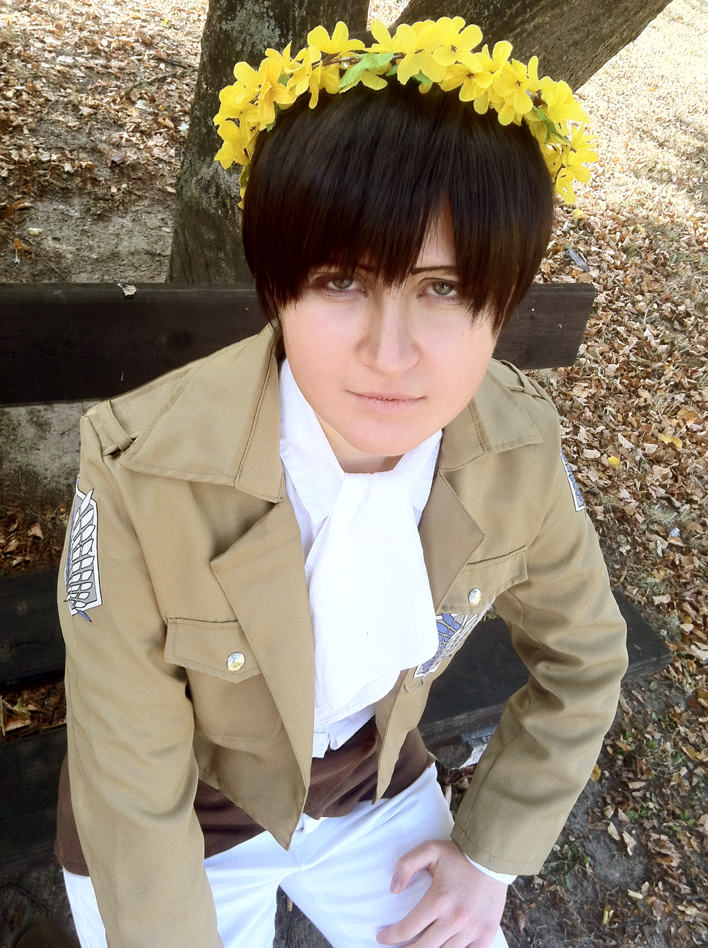Gut bekannt SnK: Levi Ackerman cosplay 3 by themuffinshota on DeviantArt CT55