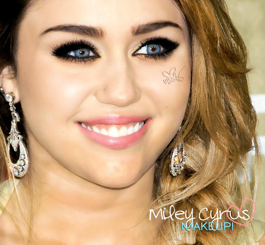 Miley Cyrus Makeup - Viewing Gallery