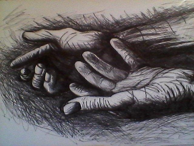 Hands by KayleniaArt