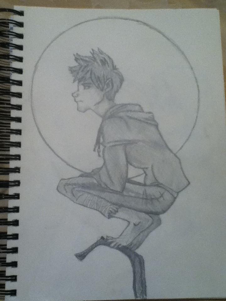 Jack Frost Pencil by KayleniaArt