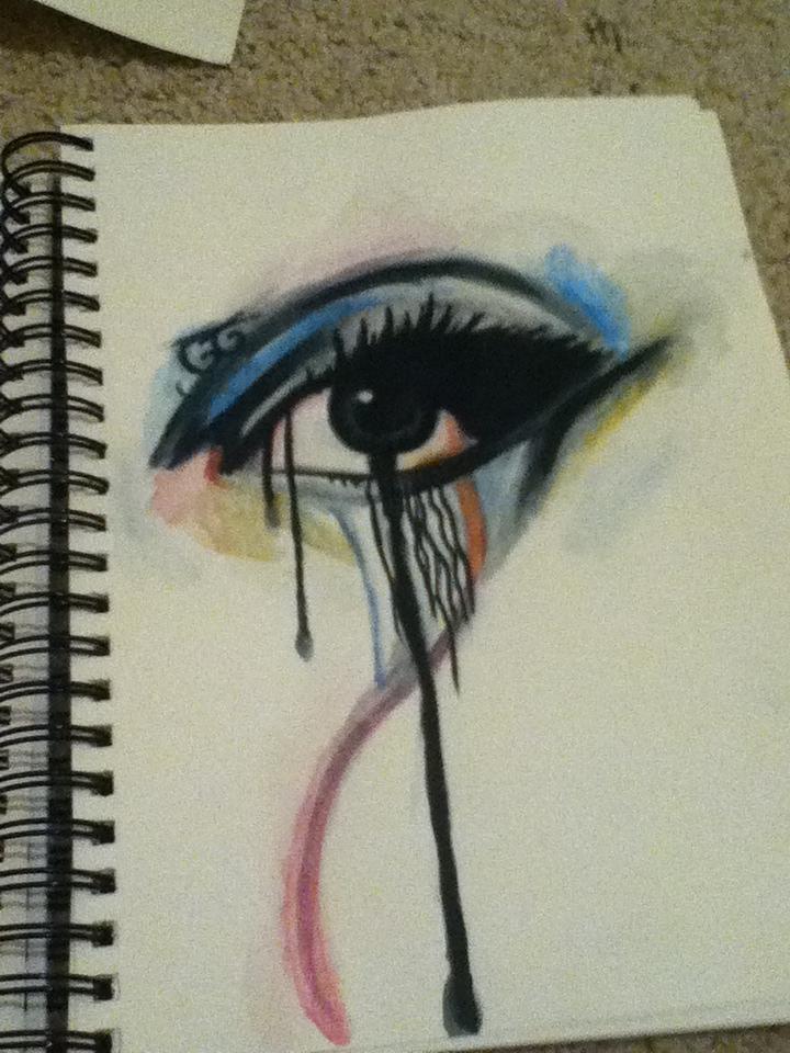 Abstract Eye by KayleniaArt