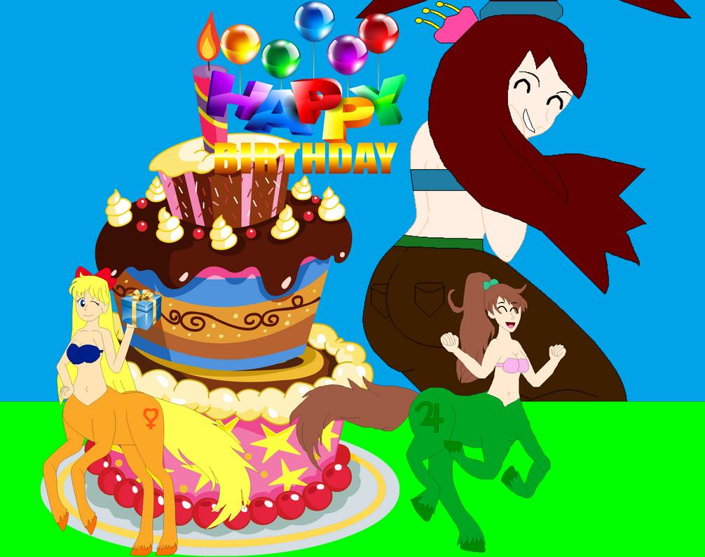 Happy Birthday Mina Cake