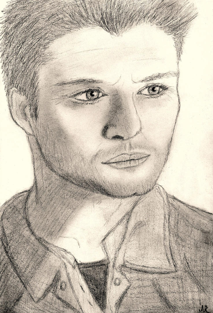 Jensen Ackles (Dean Winchester from Supernatural) by SilverSoul1496