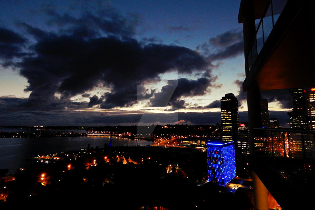 Perth Dusk by SilverSoul1496