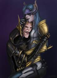 Corvus Glaive and Proxima Midnight