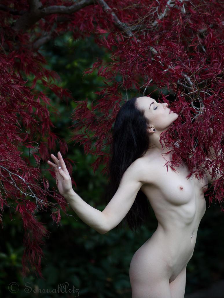porcelain beauty in autumn IV by GazzaA