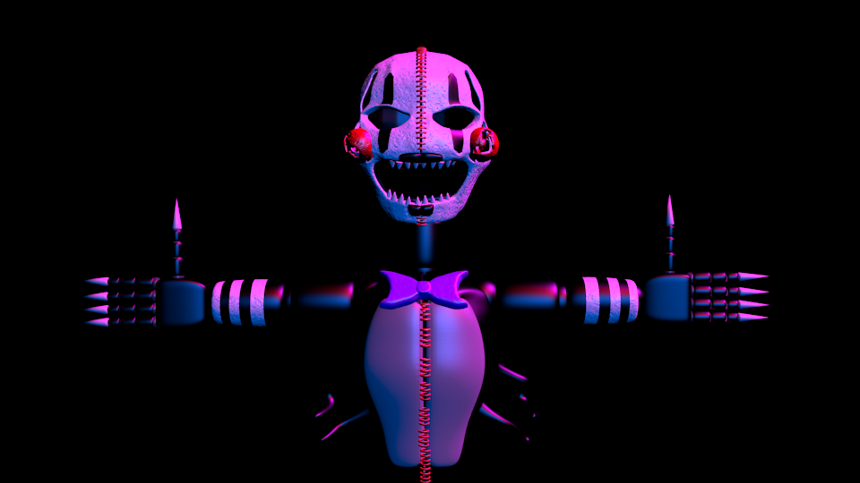 Nightmare Puppet Render By Rjac25 Deviantart – Wonderful