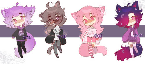 Space Kitty Adopts | 1/4 Open