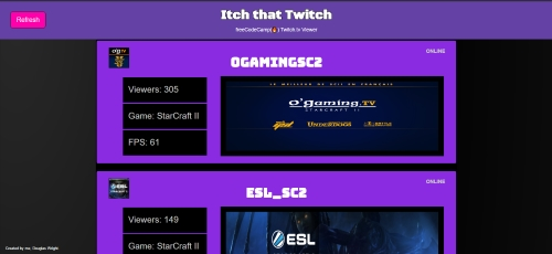 Twitchscreen by spazcool