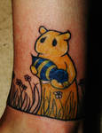 bear and a bee