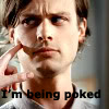 Spencer Reid Icon 21 by Blackout-Resonance