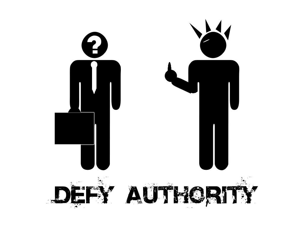 Defy Authority by kubrickz