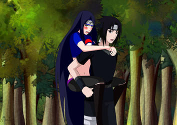 Collab Ashura and Takamy (back from the mission) by Takamy-Uchiha