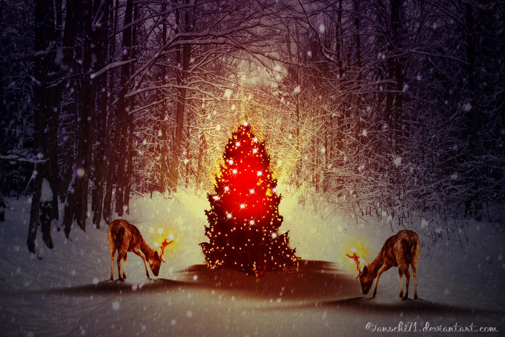 Magic Christmas Tree By Anschi71 On DeviantArt - Magic Christmas Tree
