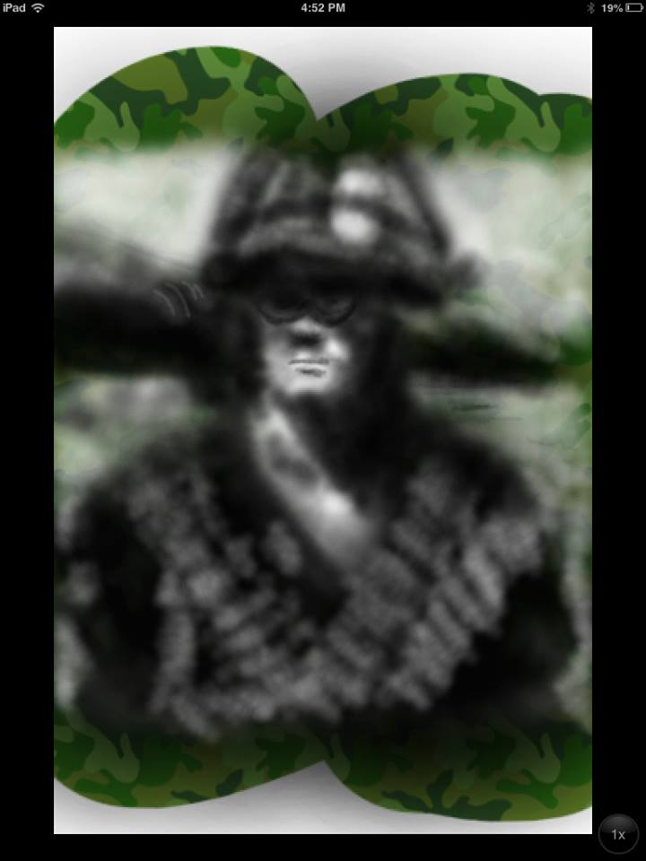 Memorial Day Tribute Vietnam Soldier by CWeebs