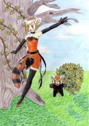 Princess of the Little Pandas by Farkas64