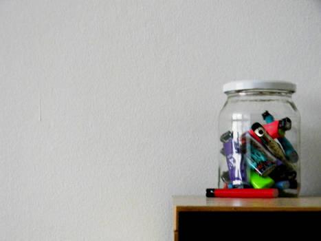 I've got a jar of... Wait,