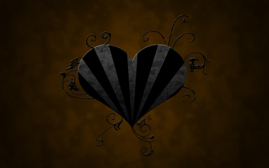 Dark Heart Wallpaper by PsychRef on DeviantArt