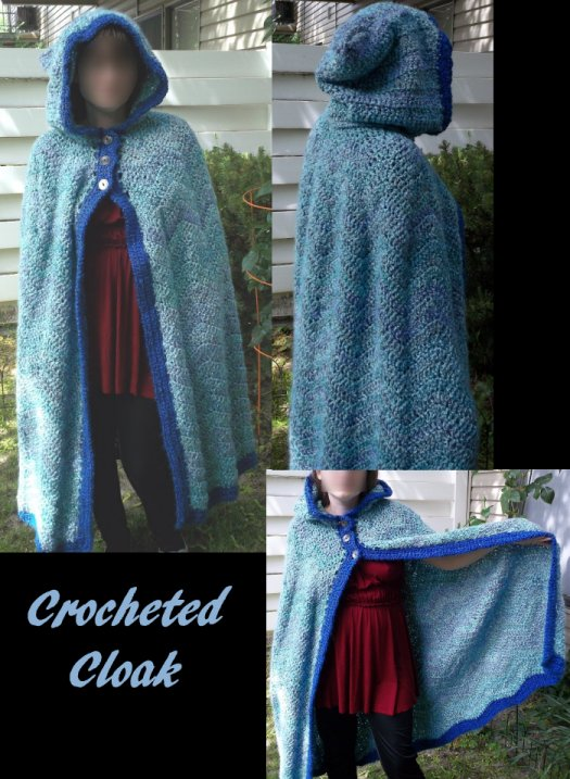 Crochet Cloak By Celestestone On Deviantart