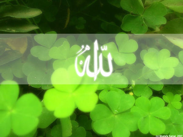 wallpaper islamic 3d. wallpaper 3d Allah blue no156