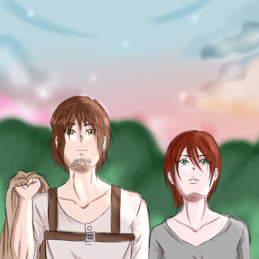 SnK OCs || You're strange, woman... by Azure-Samurai