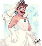 Here comes the bride...?