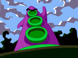 Purple Tentacle by bschulze