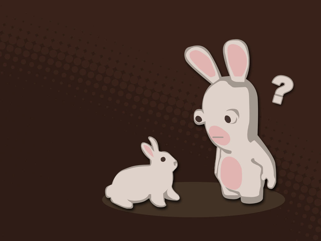 rabbid vs. rabbitbschulze on deviantart