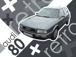 Audi 80 Retro by bschulze