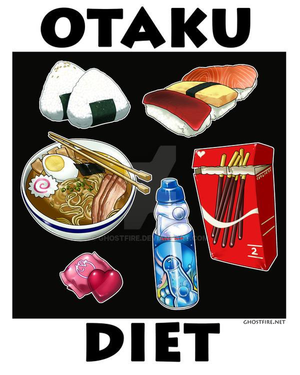 Otaku Diet by ghostfire