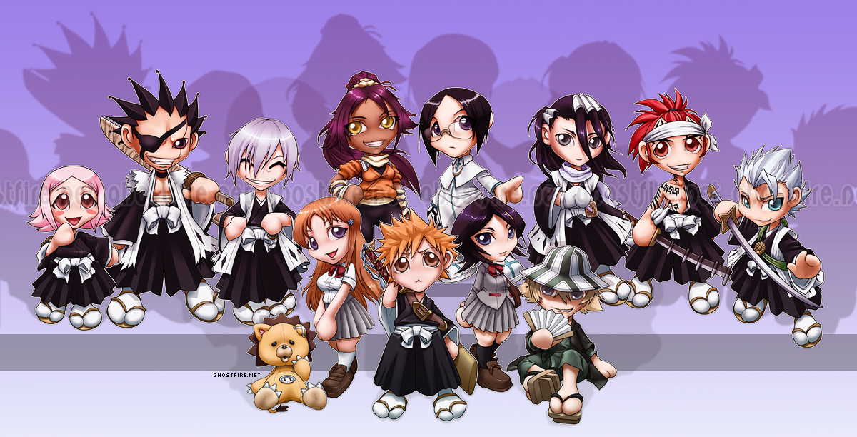 Bleach Chibis by ghostfire