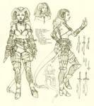 Tiefling Rogue Character Sheet