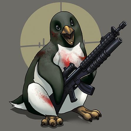 Sanguine Penguin by ghostfire