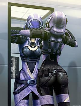 Mass Effect: Tali's Reflection
