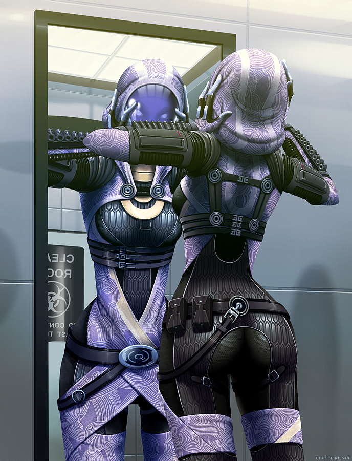 And so, it begins:  - Page 2 Mass_Effect_Tali__s_Reflection_by_ghostfire
