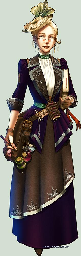 The Steampunk Artist