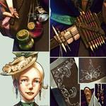 The Steampunk Artist - Details