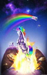 Double Rainbow by ghostfire