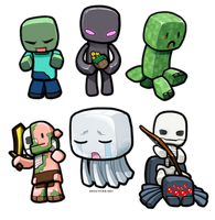 Lil' Minecraft Monsters