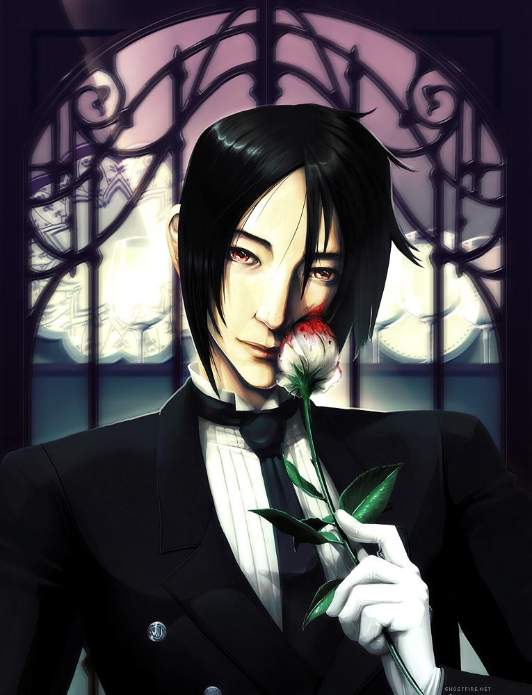 Scarlet-Eyed Valentine: Kuroshitsuji by ghostfire