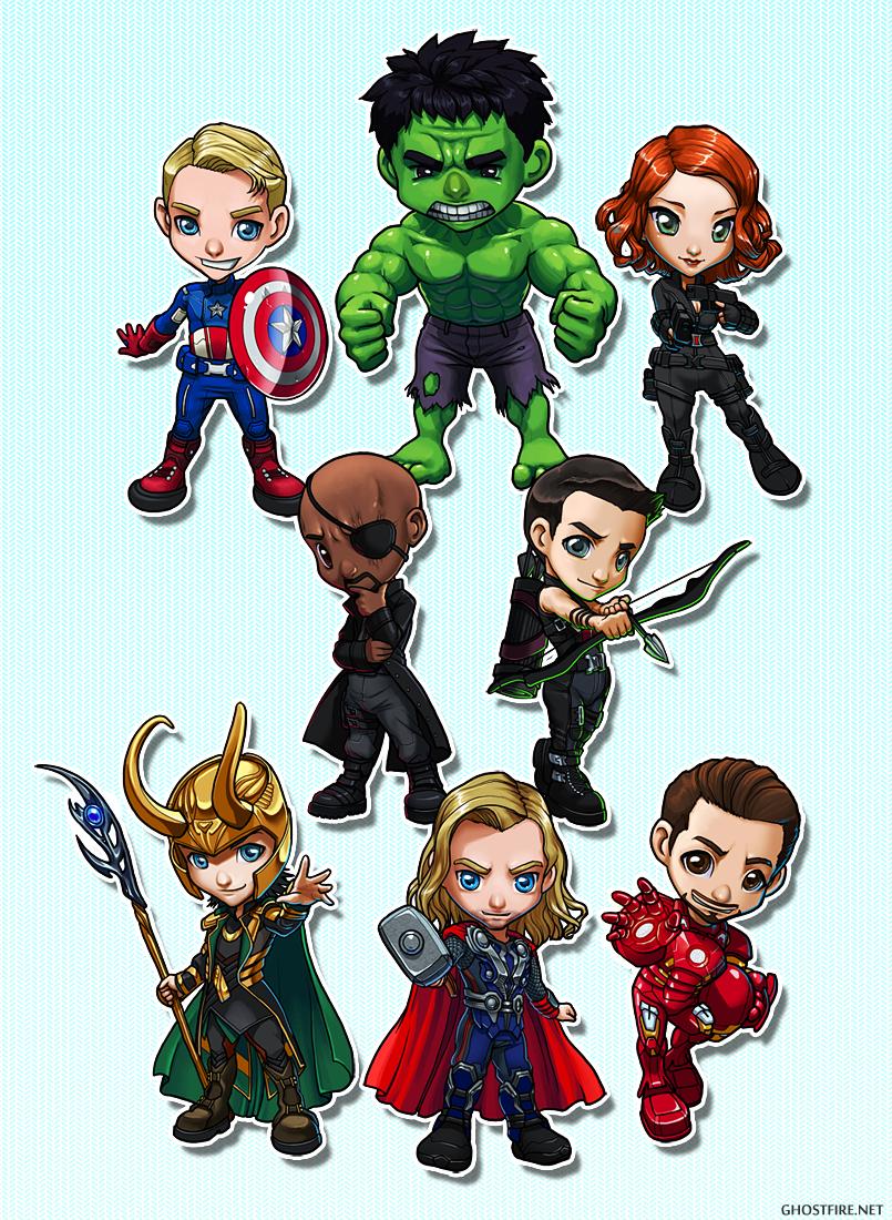 Avengers Chibi   www.imgkid.com - The Image Kid Has It!