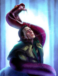 Loki: Bound and Coiled by ghostfire